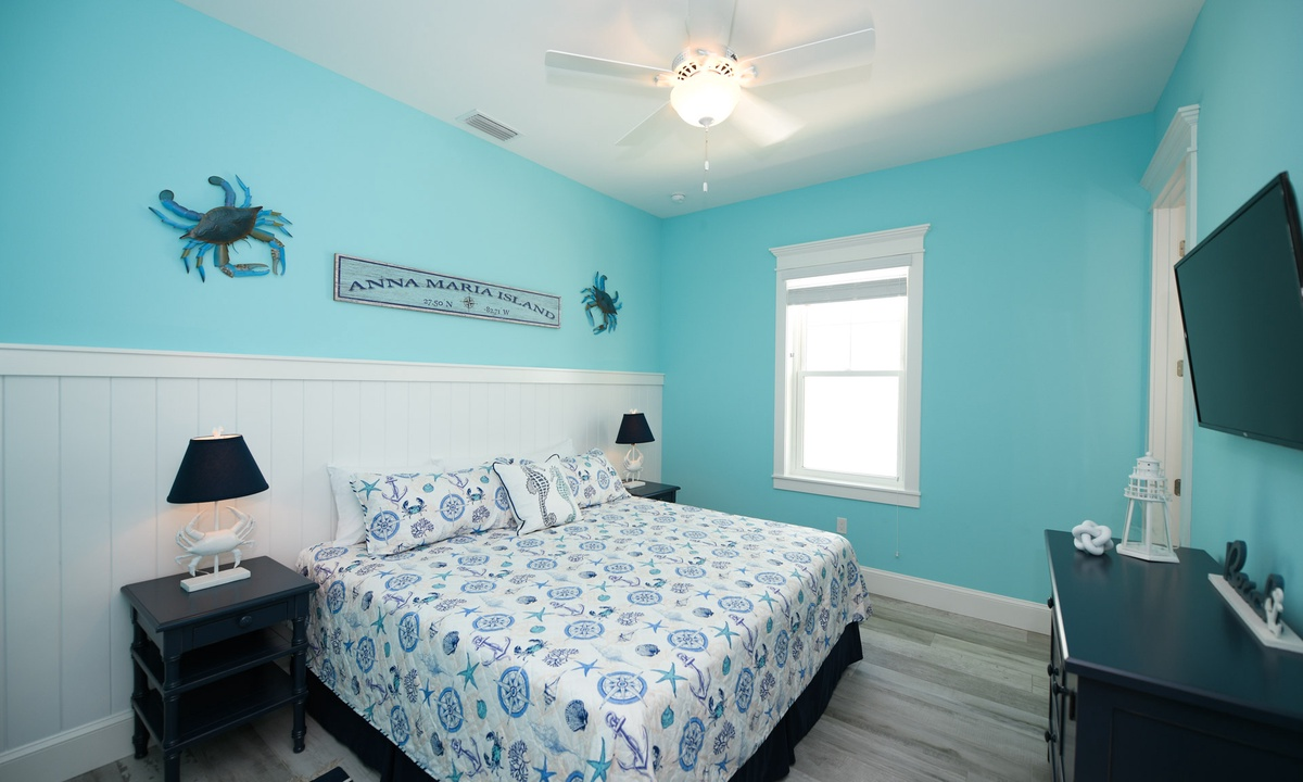 Bedroom 2, Anna Maria Beach House - AMI Locals
