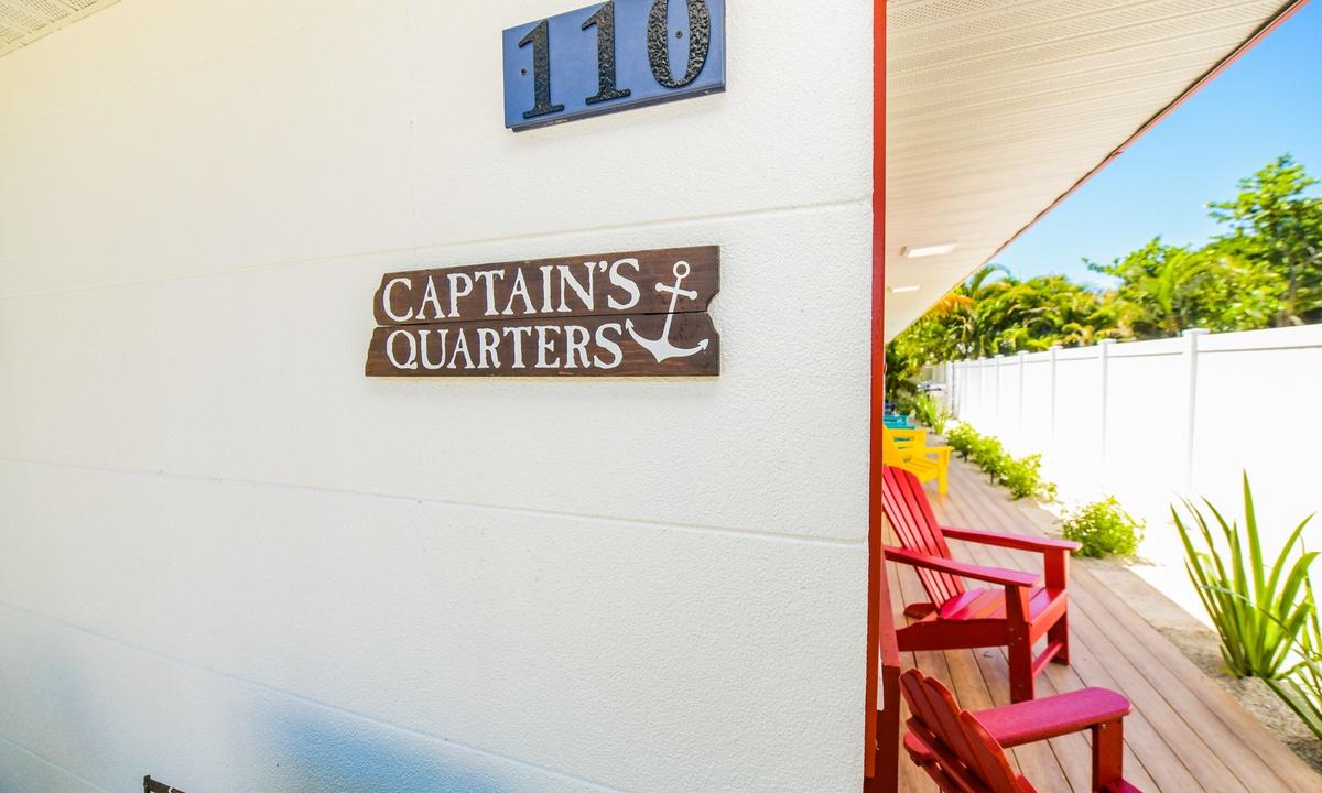 Dinghy at Captain's Quarters - AMI Locals