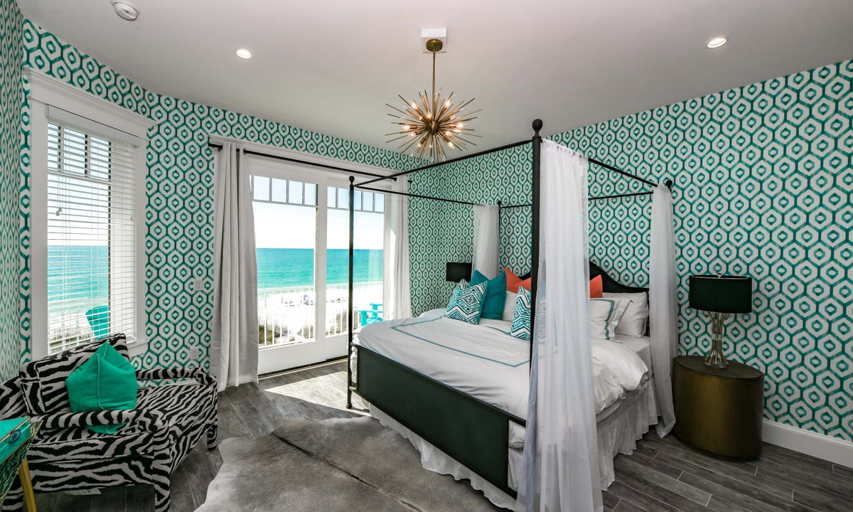 Bedroom 5 (Master), Beachfront Paradise - AMI Locals