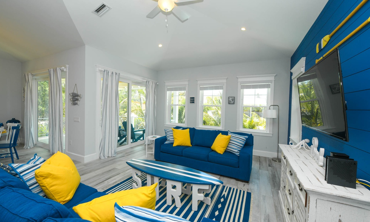 Living Room, Anna Maria Beach House - AMI Locals