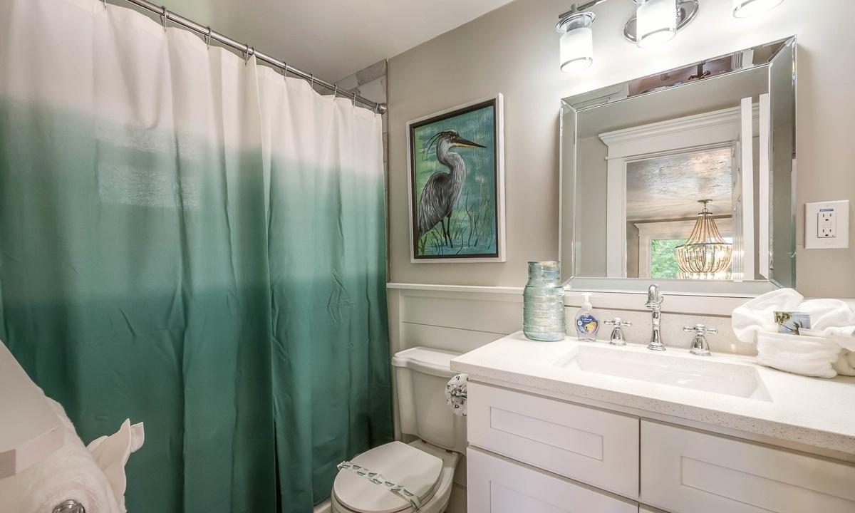 Ensuite Bathroom, Heron Hideaway at Driftwood - AMI Locals