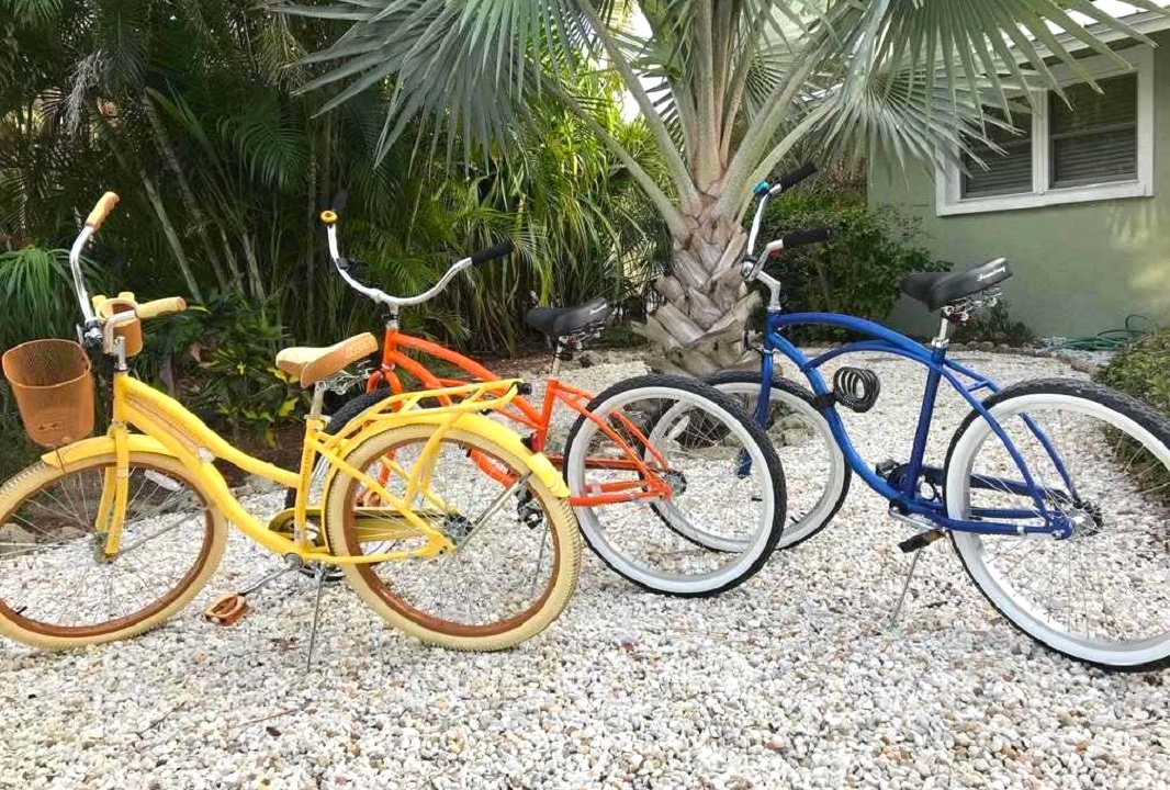 Bikes for guest use, Dockside Paradise - AMI Locals
