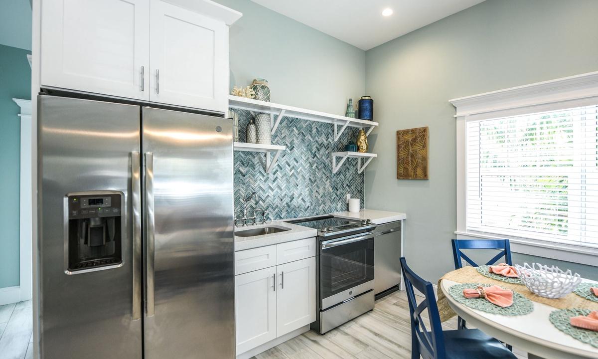 Kitchen, Villa Seashell - AMI Locals