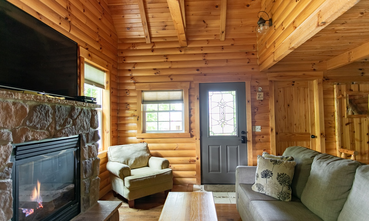 Sugar Maple Cabin Vacation Rental In Berlin Oh Amish Country Lodging