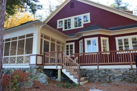 LAK22Wf - Lake Winnipesaukee waterfront, Meredith