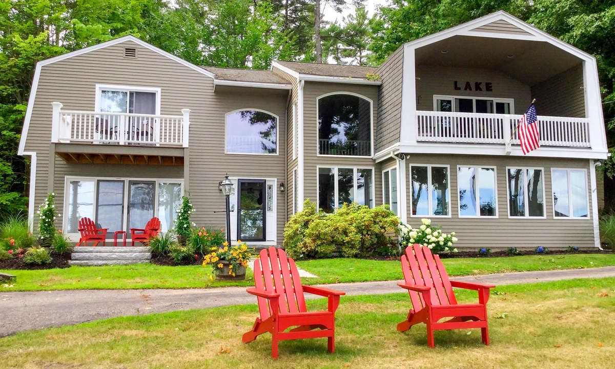 HIL75Bc - Beautiful Vacation Home on Belknap Point