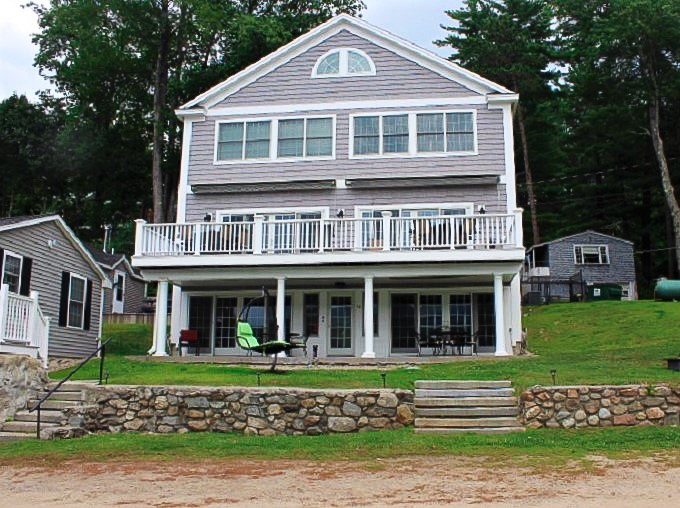 LEB56Wf -Direct Views of Alton Bay, Gorgeous 3 Level Duplex