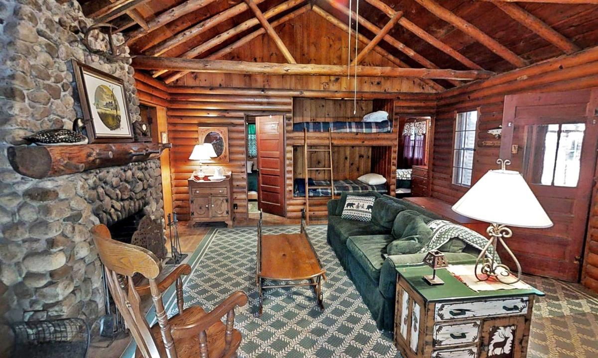Big Trout Rustic Cabin