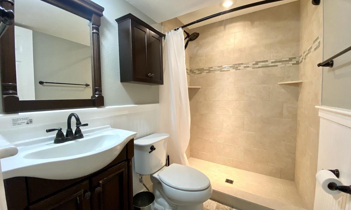 Bathroom 2: Downstairs