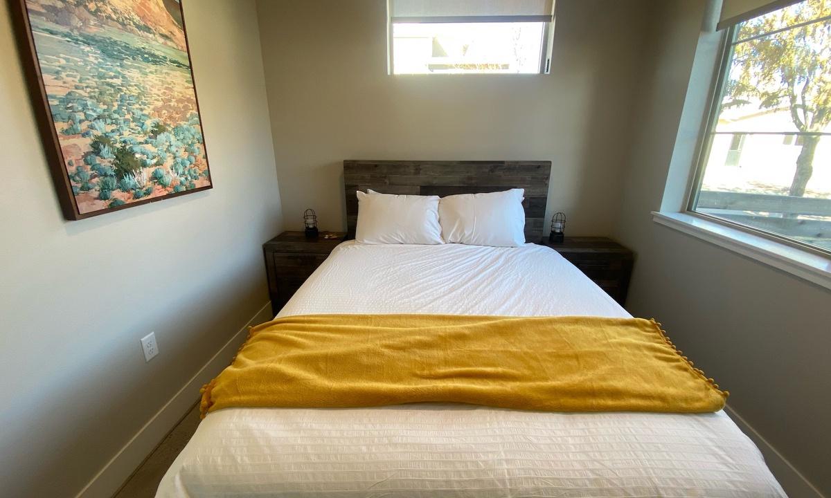 Bedroom 3: Queen on main floor