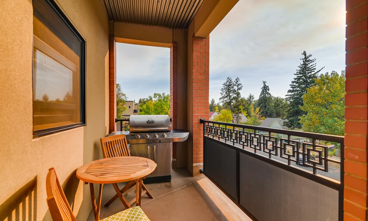 Balcony and Grill