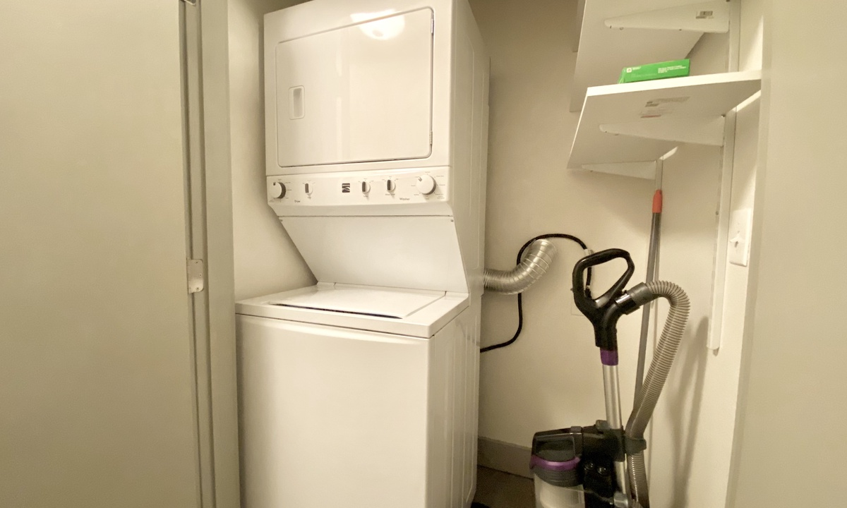 laundry area for your use