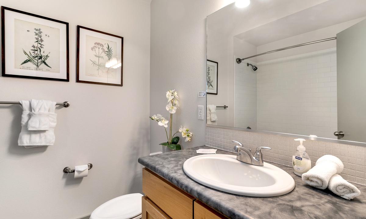 Bathroom 2: Ensuite bath