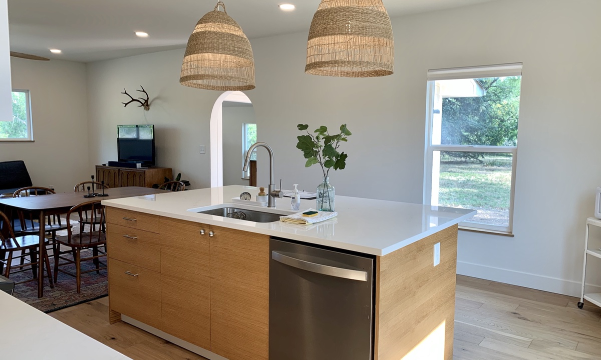 Bright newly remodeled Chef's Kitchen