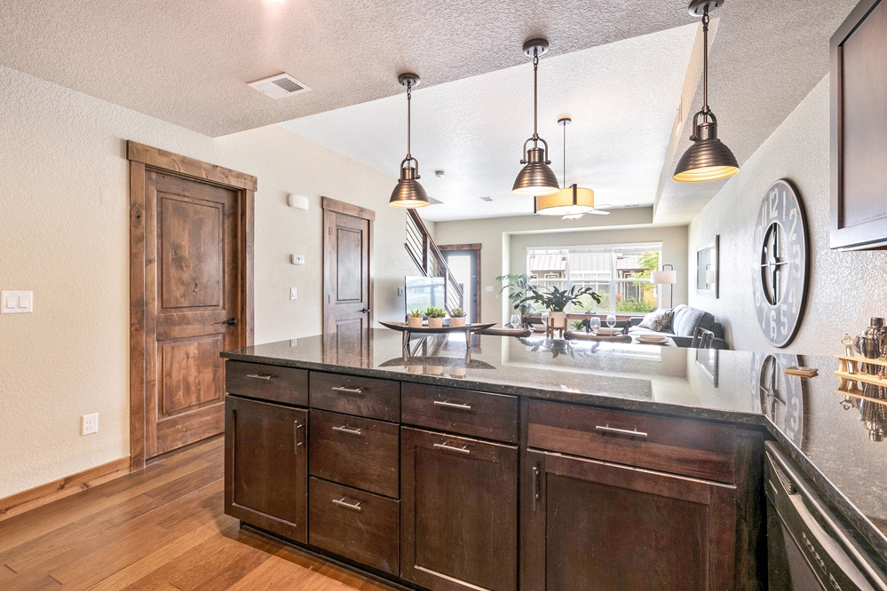 Open concept and bright light