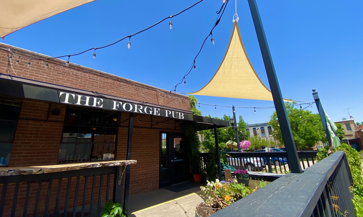 The Forge Pub. Great Beers!