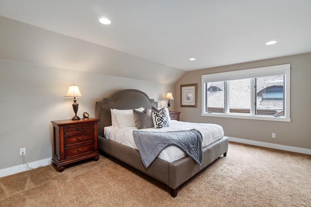 Master king bedroom upstairs