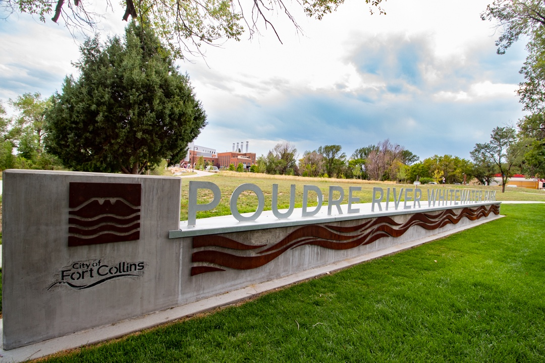 Poudre River Whitewater park is within walking distance of the townhome.