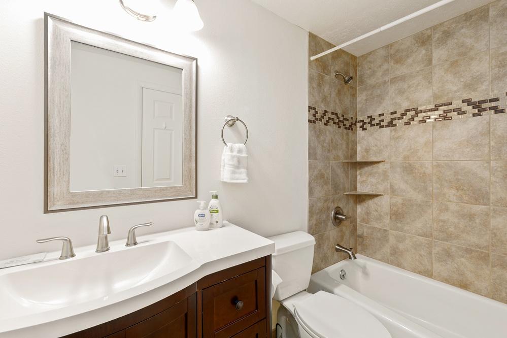 Master bathroom (upstairs)