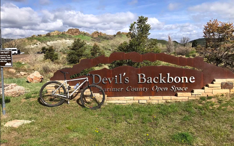 Less than a half mile from Devil's Backbone open space where you can hike and mt. bike