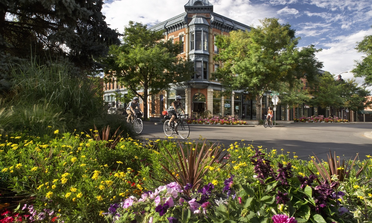 Enjoy beautiful Downtown Fort Collins