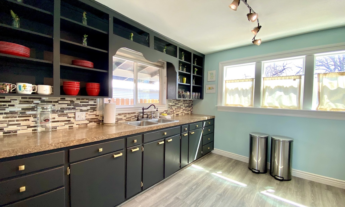 large and bright kitchen