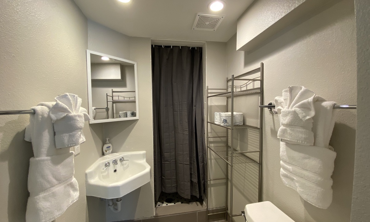 Ensuite bath for bedroom 1