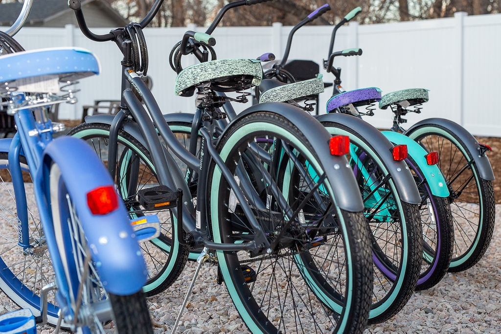 Shared cruiser bikes