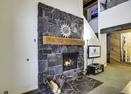 Living Room w/Wood Fireplace-Meadow Hse Cndo 5