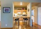Kitchen w/Bar Seating-Powder Village Condo K7