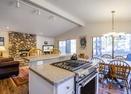 Kitchen w/Gas Stove-Pine Ridge 4