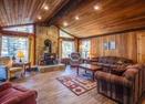 Living Room w/Wood Stove-Lynx Lane 5
