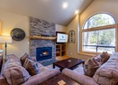 Living Room w/Gas Fireplace-Redwood 7