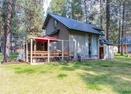 Back Exterior-Ranch Cabin 17