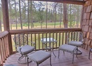 Private Deck off  King Master Bedroom-Wildflower Condo 9