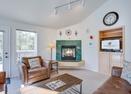 Living Room w/Gas Fireplace-Shag Bark 6