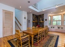 Dining Room w/ Wood Stove-Gannet 15