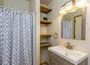Queen Master Bathroom-Powder Village Condo K7