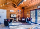 Living Room w/Wood Stove-Coyote 8