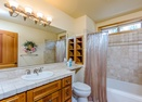 Upstairs Full Bathroom-Tan Oak 4
