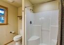 Downstairs King Master Bath-Modoc Lane 6