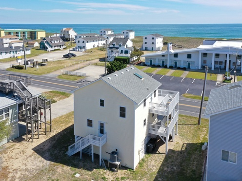 Aerial View of Rear Exterior